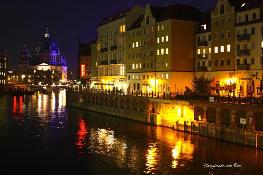Notturno sul fiume Sprea