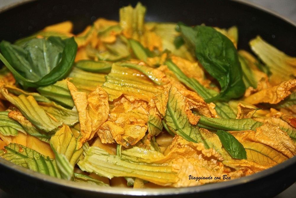 Lasagne vegetariane al profumo di ZU….. (1/5)
