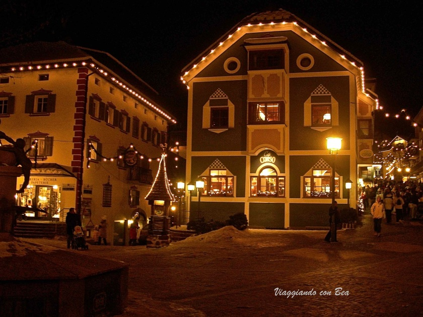 Ortisei By Night