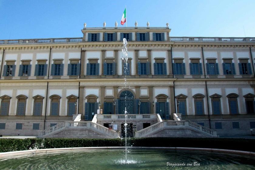 Villa Reale : la facciata