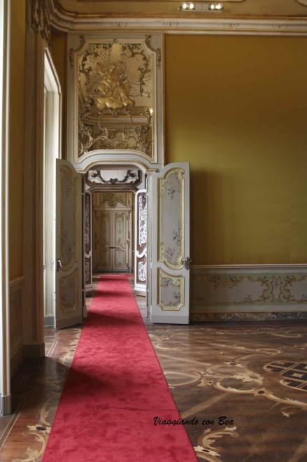 Villa Reale di Monza - passando da una sala all'altra