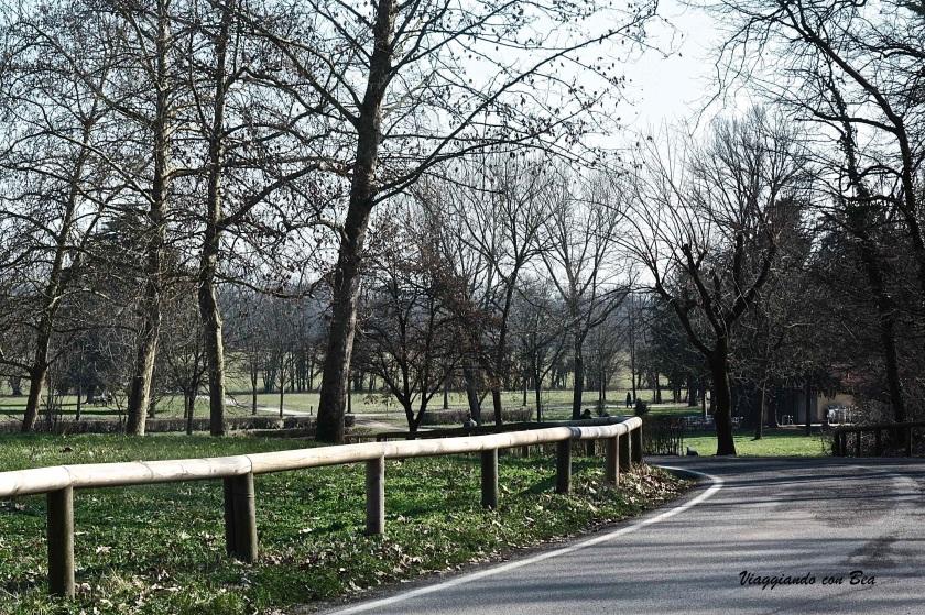 in giro al Parco di Monza