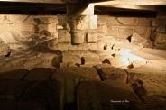 antichi scavi a cui si accede tramite scaletta