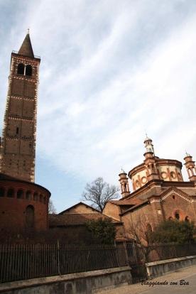 Sant' Eustorgio veduta dal Parco delle Basiliche