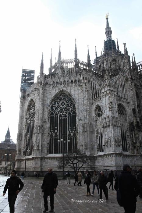 Scatto sul retro del Duomo