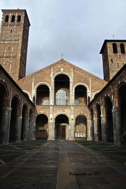 Facciata Chiesa S.Ambrogio