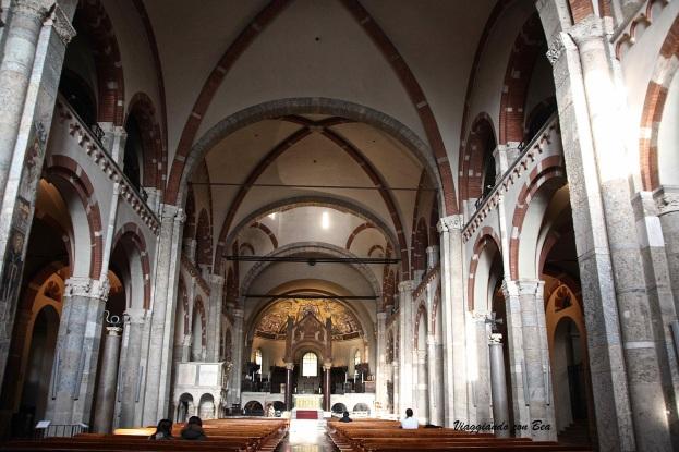 Navata centrale Chiesa S.Ambrogio