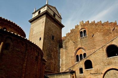 Scorcio sulla Rotonda di San Lorenzo