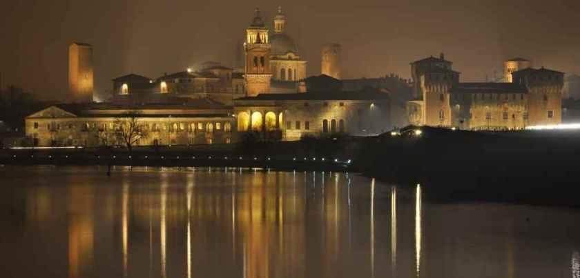 Notturno su Mantova - Foto dal sito dell'Agriturismo