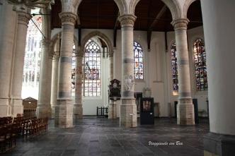Oude Kerk - interno veramente spettacolare