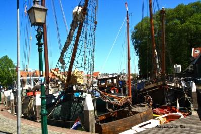 Hoorn - in giro per l'Hoofd antico porto