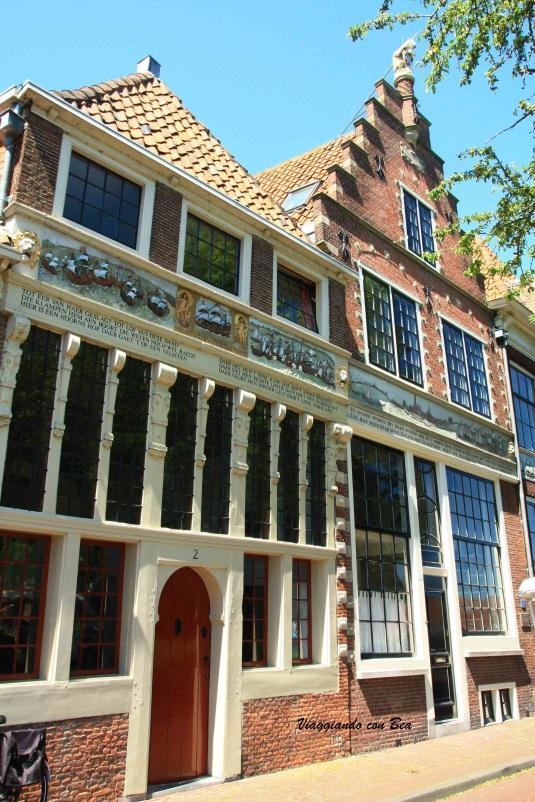 Hoorn - bellissime case patrizie