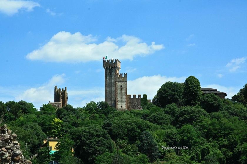 Le magnifiche torri del Castello Scaligero