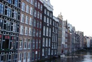 Scorcio sulle case di Amsterdam