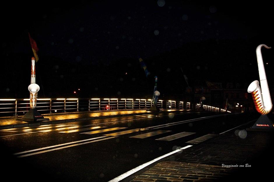 notturno sul Ponte Charle de Gaulle