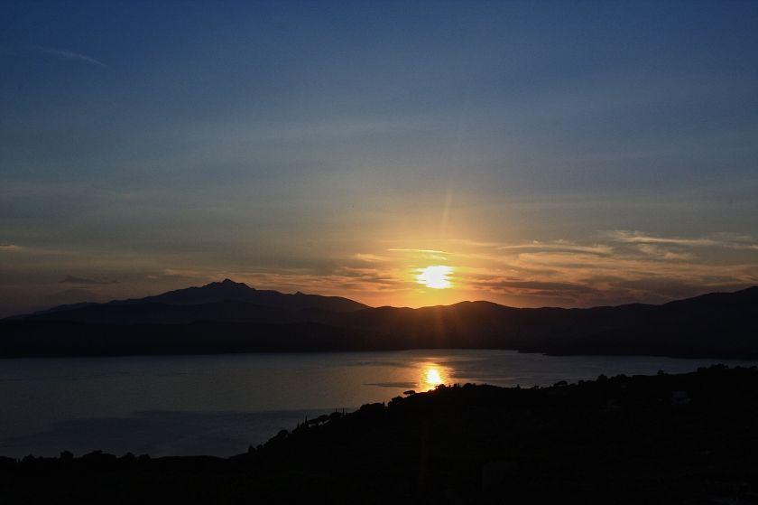 tramonto su Golfo Stella