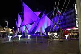Kuwait- anche di notte ha il suo fascino
