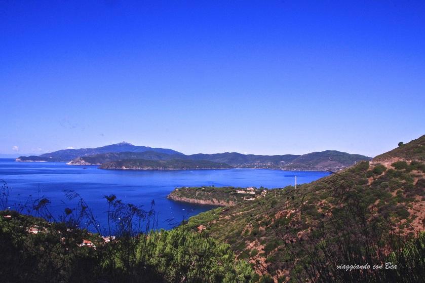panorama mozzafiato su Golfo Stella