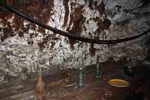 è qui che i minatori sostavano per il pranzo