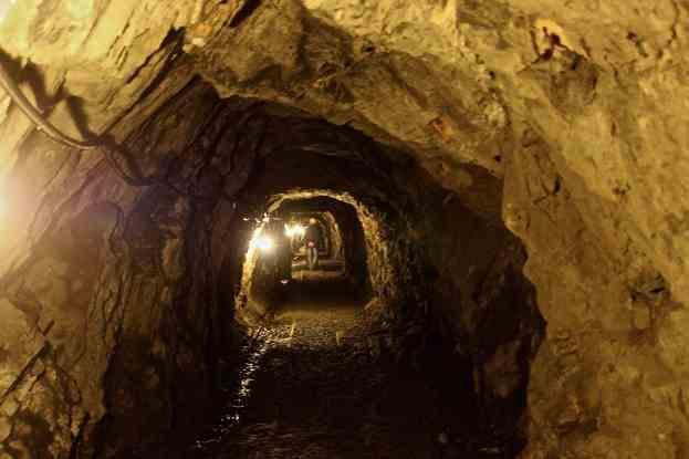 le gallerie sotterranee ..