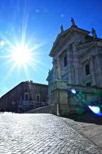 Urbino - facciata del Duomo
