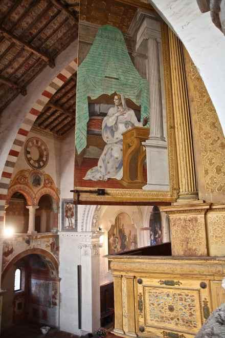 Uno sguardo sull'organo dal Matroneo