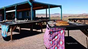 Artigianato Navajo lungo la 89