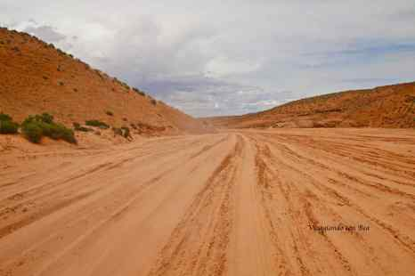 verso l'Antelope Canyon