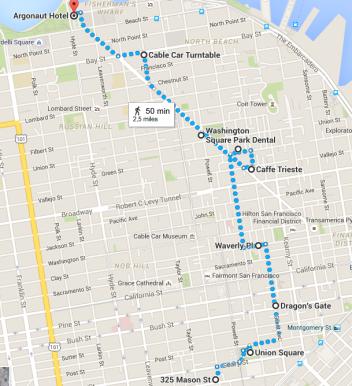 I° giro della città - 4 km -