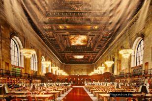 Scatto su immagine Sala Lettura principale