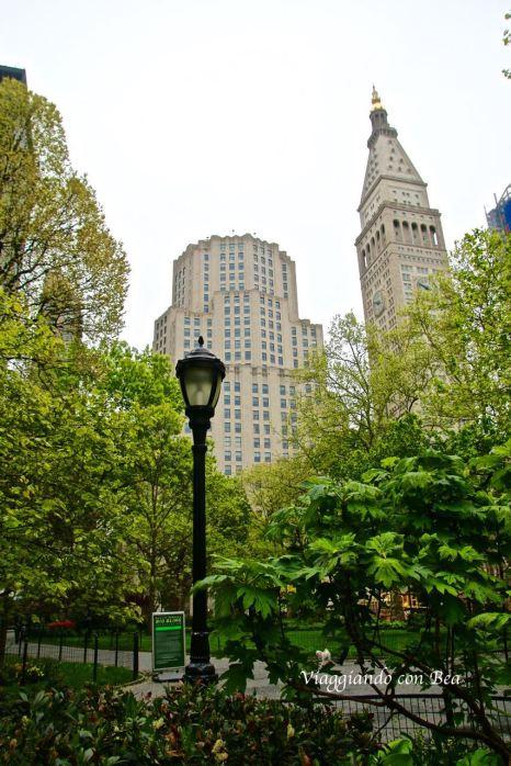 Uno scorcio da Madison Square Park