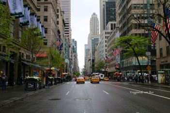 Attraversando la Fifth Avenue