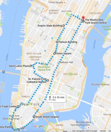 Non riesco a crederci ..... abbiamo fatto a piedi 17 km ... proprio una mezza maratona