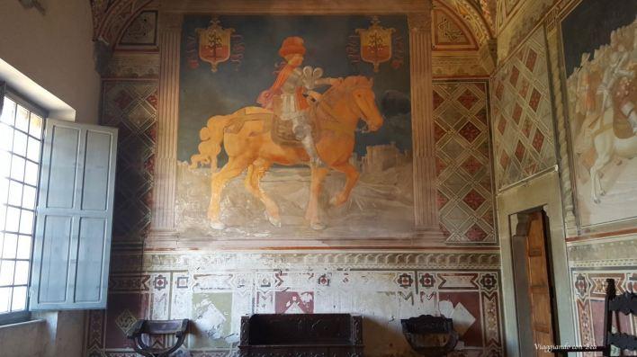 Affresco raffigurante Spinetta I